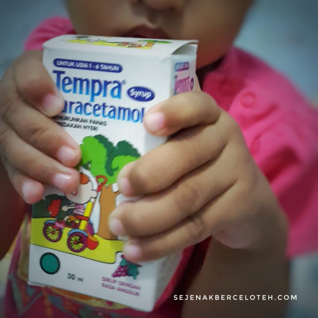 Tempra Syrup to the rescue!